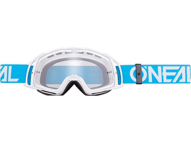 O'Neal B-20 Goggles flat teal/white-clear